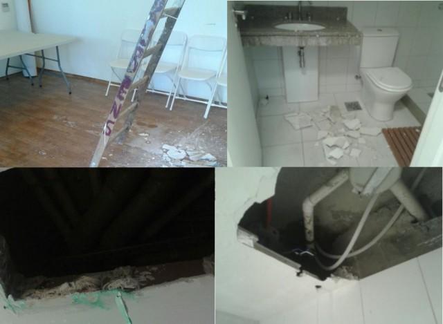 broken facilities