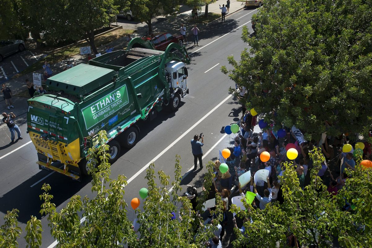 Ethan Dreams of Becoming a Garbage Man - Source: Associated Press