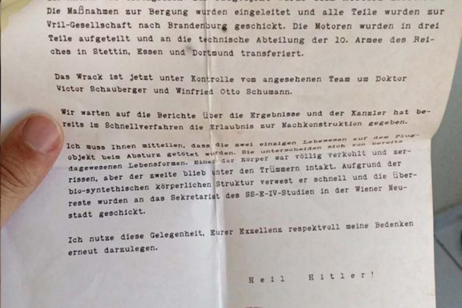nazi document
