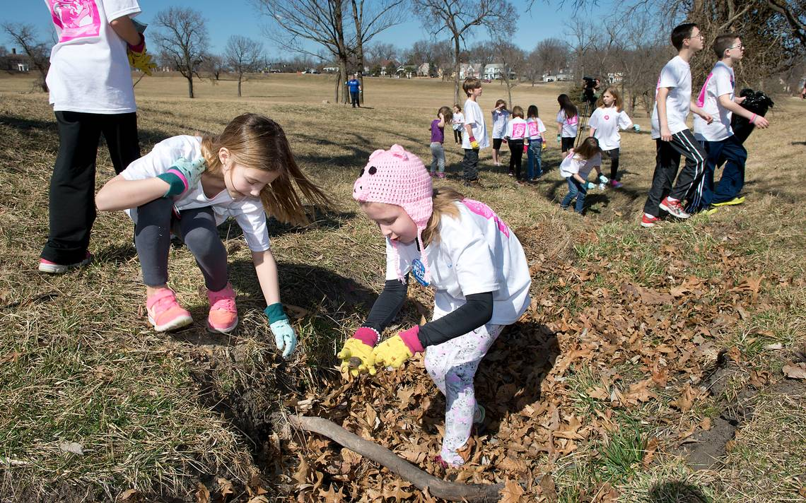 Amelia Inspired Others to Clean - Source: Kansas City Star
