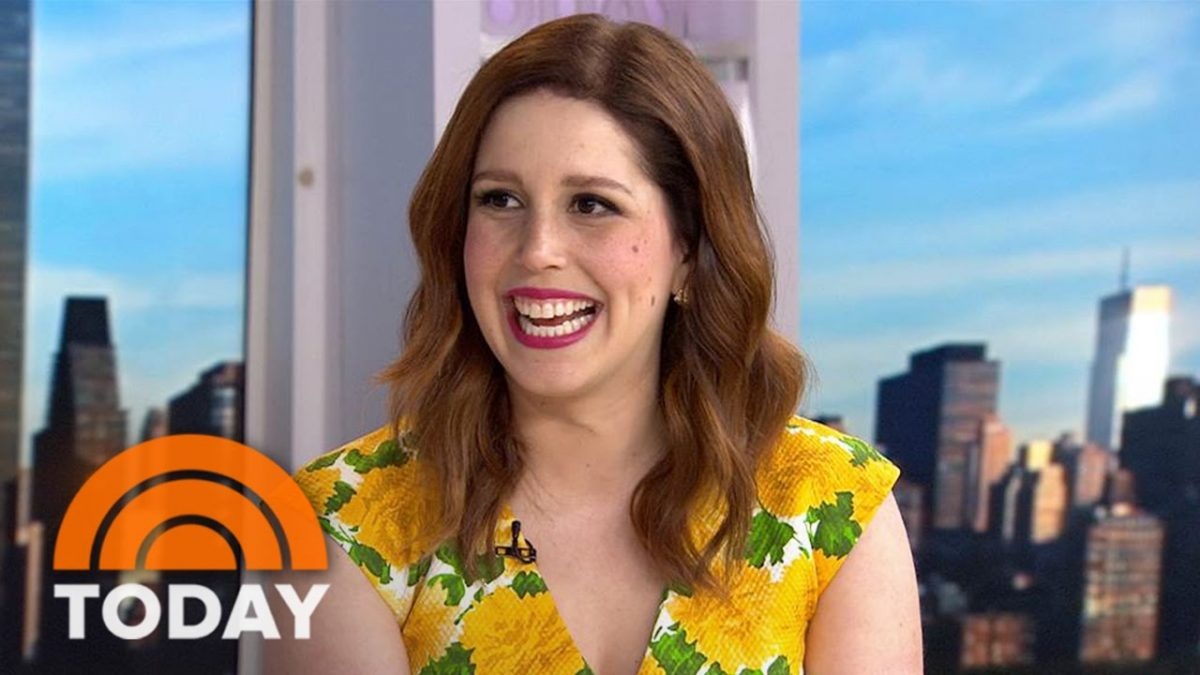 Vanessa Bayer is a Make-A-Wish Child - Source: YouTube/NBC Today